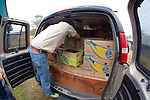 Loading Stranding Sea Turtles In Boxes For Transport, Welfleet Bay Wildlife Sanctuary, Audubon