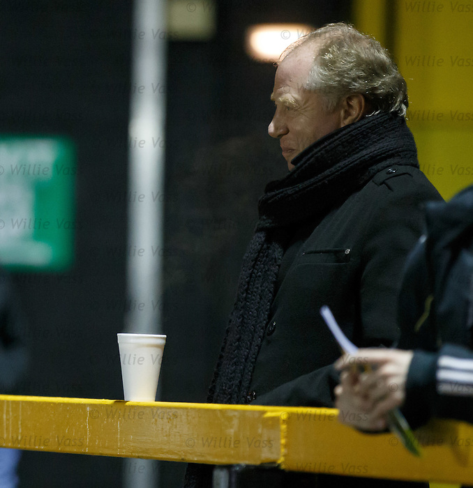 Jimmy Nicholl doesn't know what to make of that Rangers performance