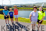 Taking part in the Kerry Hospice 5k Walk on Saturday in Blennerville. <br /> Front right: Joan and Laura Devane.<br /> Back l to r: Aisling, Aoife and Breda O'Connell.