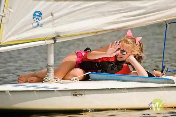 2012 Eagles Mere Sunfish Regatta.
