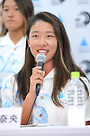 Nao Omura, <br /> AUGUST 4, 2016 - Surfing : <br /> Nippon Surfing Association holds a press conference after it was decided that <br /> the sport of surfing would be added to the Tokyo 2020 Summer Olympic Games on August 3rd, 2016 <br /> in Tokyo, Japan. <br /> (Photo by AFLO SPORT)