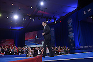 National Harbor, MD - March 5, 2016: U.S. Senator Marco Rubio enters the Potomac Ballroom to address attendees at the 2016 Conservative Political Action Conference, hosted by the American Conservative Union, at the Gaylord National Hotel in National Harbor, MD, March 5, 2016.   (Photo by Don Baxter/Media Images International)
