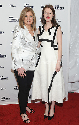 NEW YORK, NY - APRIL 20:Arianna Huffington and Isabella Hufftington attends the the LGBT Community Center gala at Cipriani Wall street on April 20, 2017  in New York City. Photo by John Palmer/MediaPunch