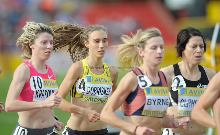Photo: Ady Kerry/Richard Lane Photography..Aviva British Grand Prix. 31/08/2009. .Lisa Dobriskey 1500m