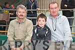 Pictured at the Fat Stock show and Sale in the Mid Kerry co-op mart in Milltown on Saturday were Pat O'Connor, Sean Arthurs and Kevin O'Hara, all Caragh Lake. ..Picture: Ger Cronin LMPA (087) 0522010........NO FEE.....PR SHOT...... ..........................