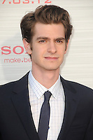 Andrew Garfield at the premiere of Columbia Pictures' 'The Amazing Spider-Man' at the Regency Village Theatre on June 28, 2012 in Westwood, California. &copy; mpi35/MediaPunch Inc. /*NORTEPHOTO.COM*<br />