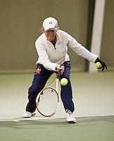 March 5, 2015, Netherlands, Hilversum, Tulip Tennis Center, NOVK, Final Lady's 80+ , winner Bea Nerden (NED)<br /> Photo: Tennisimages/Henk Koster