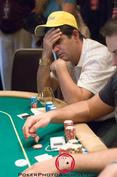 Valentino Morello agonizes over a call.