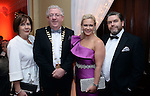 Pictured at the Kerry Branch of IHF Ball in the Muckross Park Hotel at the weekend were Joe and Rosie Dolan, The Bush Hotel, Carrick-on-Shannon and President of the IHF with Aileen and Tom Randles Randles Hotel, Killarney.<br /> Photo: Don MacMonagle<br /> <br /> Repro free photo