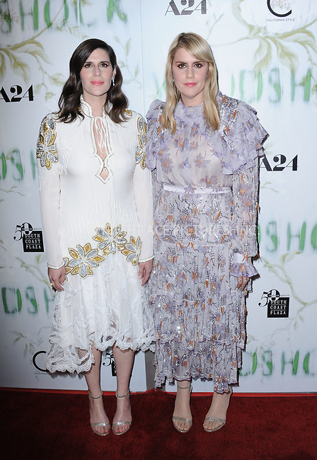 www.acepixs.com<br /> <br /> September 18 2017, LA<br /> <br />  Directors Laura Mulleavy and Kate Mulleavy arriving at the premiere of 'Woodshock' at the ArcLight Cinemas on September 18, 2017 in Hollywood, California<br /> <br /> By Line: Peter West/ACE Pictures<br /> <br /> <br /> ACE Pictures Inc<br /> Tel: 6467670430<br /> Email: info@acepixs.com<br /> www.acepixs.com