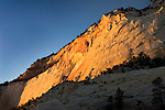 Sunset on Cliff, Zion High Country