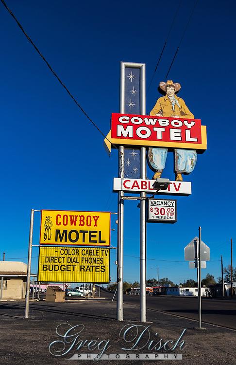 Coboy Motel Route 66 Amarillo Texas
