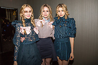 "Julia Laus, Bailey Kirchberg and Hannah Kat Jones attend the Foxbait Presents The AW/17 ""Kidnapped"" Collection - Fashion Show at Nightingale Plaza in Los Angeles, CA on Saturday, March 11, 2017 (Photo by Inae Bloom/Guest of a Guest)"