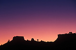 Sunrise over buttes near Kodachrome Basin State Park, UT.