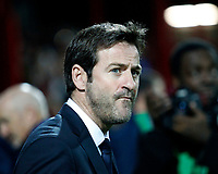 Thomas Christiansen manager of Leeds United during the Sky Bet Championship match between Brentford and Leeds United at Griffin Park, London, England on 4 November 2017. Photo by Carlton Myrie.