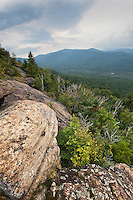 View from the Summit of Mt. Von Hoevenberg, Adirondack Mountains, New York