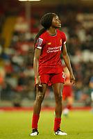 17th November 2019; Anfield, Liverpool, Merseyside, England; Womens Super League Footballl, Liverpool Women versus Everton; Rinsola Babajide of Liverpool FC Women - Editorial Use