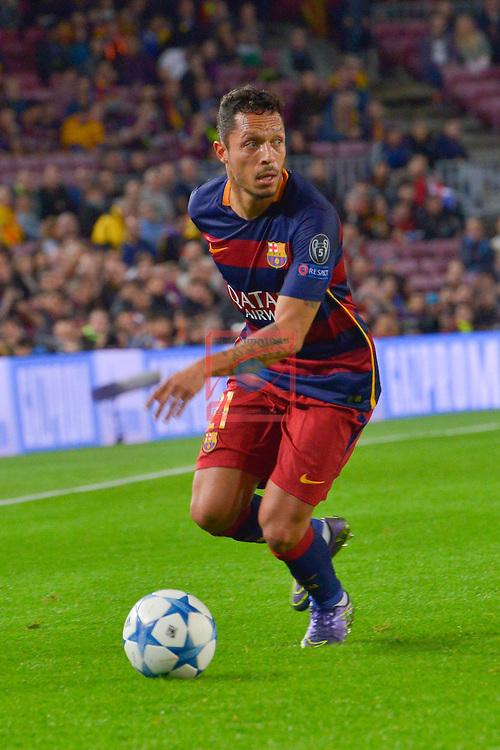 ADRIANO - Champions League 2015/16 Matchdy 4 - FC Barcelona vs Bate Borisov (3-0)