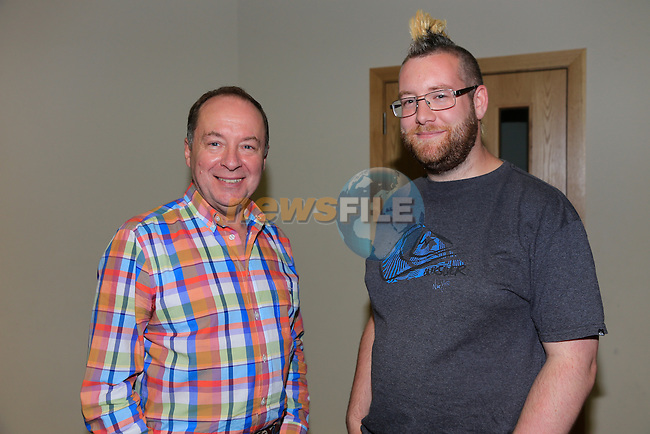 John McFarland and James Anderson at Drogheda Presbyterian Church<br /> Picture: www.newsfile.ie