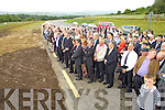 pictured at the opening of the Tralee Bypass Road on Friday.