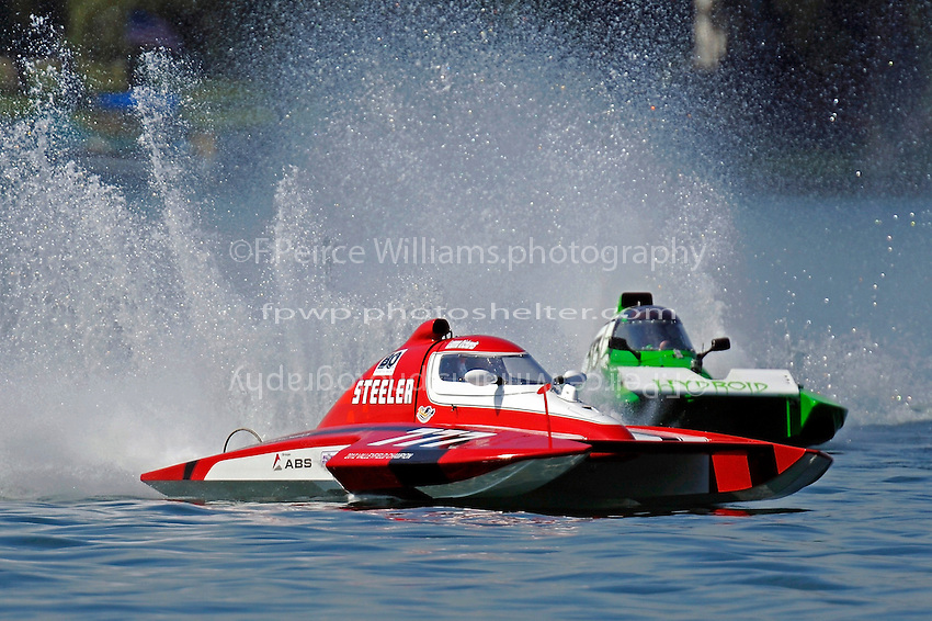 "T-777 ""Lil Steeler"" and T-313 (1.5 Litre Stock hydroplane(s)"