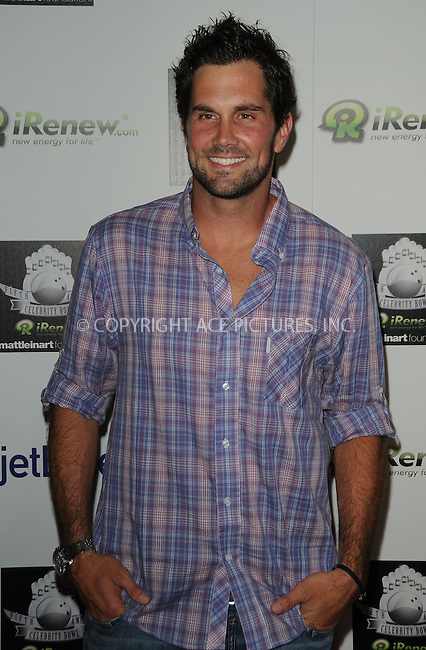 WWW.ACEPIXS.COM . . . . .  ....July 14 2011, LA....Matt Leinart at the Matt Leinart Foundation's Fifth Annual 'Celebrity Bowl' at Lucky Strikes on July 14, 2011 in Hollywood, California. ....Please byline: PETER WEST - ACE PICTURES.... *** ***..Ace Pictures, Inc:  ..Philip Vaughan (212) 243-8787 or (646) 679 0430..e-mail: info@acepixs.com..web: http://www.acepixs.com