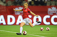 Vancouver, Canada - Thursday November 09, 2017: Samantha Mewis during an International friendly match between the Women's National teams of the United States (USA) and Canada (CAN) at BC Place.