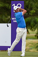 Brooks Koepka (USA) watches his tee shot on 12 during round 4 of the WGC FedEx St. Jude Invitational, TPC Southwind, Memphis, Tennessee, USA. 7/28/2019.<br /> Picture Ken Murray / Golffile.ie<br /> <br /> All photo usage must carry mandatory copyright credit (© Golffile | Ken Murray)