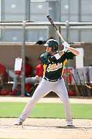 Josh Horton, Oakland Athletics 2010 extended spring training..Photo by:  Bill Mitchell/Four Seam Images.