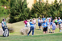 Andy Sullivan (ENG) on the 9th during the 1st round of the 2017 Portugal Masters, Dom Pedro Victoria Golf Course, Vilamoura, Portugal. 21/09/2017<br />