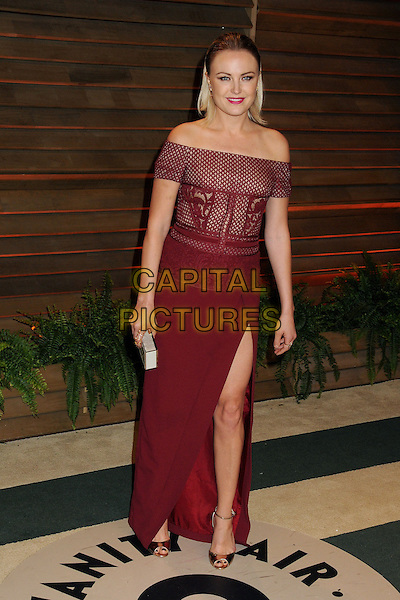 02 March 2014 - West Hollywood, California - Malin Akerman. 2014 Vanity Fair Oscar Party following the 86th Academy Awards held at Sunset Plaza. <br /> CAP/ADM/BP<br /> &copy;Byron Purvis/AdMedia/Capital Pictures