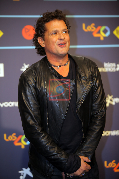 Los 40 MUSIC Awards 2016 - Photocall.<br /> Carlos Vives.