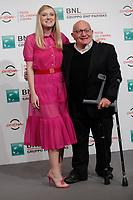 Ben Lewin and Dakota Fanning<br /> Roma 31/10/2017.  Auditorium parco della Musica. Festa del Cinema di Roma 2017.<br /> Rome October 31st 2017. Rome Film Fest 2017<br /> Foto Samantha Zucchi Insidefoto