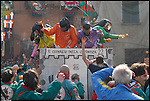 La battaglia delle arance dello storico carnevale di Ivrea