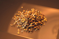 SAMPLE OF GOLD POWDER<br /> Native Gold Panned From A Western Stream.
