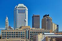 Buildings in downtown Columbus, Ohio