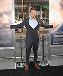HOLLYWOOD, CA - APRIL 16: Actor Michael Dorman arrives at the Los Angeles premiere of 'The Water Diviner' at the TCL Chinese Theatre IMAX on April 16, 2015 in Hollywood, California.