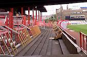 23/06/2000 Blackpool FC Bloomfield Road Ground...West paddock entrance.....© Phill Heywood.