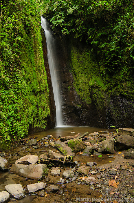 Waterfall in the Arenal area, near El Castillo, Costa Rica