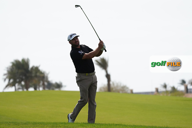 Graeme McDowell (NIR) on the 9th during Round 4 of the Saudi International at the Royal Greens Golf and Country Club, King Abdullah Economic City, Saudi Arabia. 02/02/2020<br /> Picture: Golffile | Thos Caffrey<br /> <br /> <br /> All photo usage must carry mandatory copyright credit (© Golffile | Thos Caffrey)