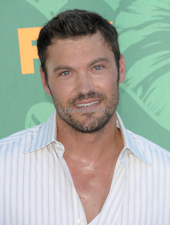 Brian Austin Green at the Teen Choice Awards 2008 arrivals at the Gibson amphitheatre at Universal City Walk, Ca. August 3, 2008. Fitzroy Barrett
