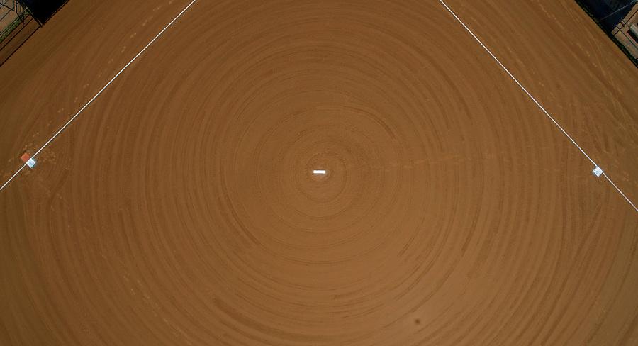 Basebase or softball diamond aerial view. Photo/Andrew Shurtleff Photography, LLC
