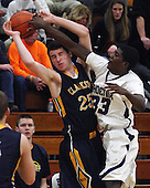 Clarkston at Pontiac, Boys Varsity Basketball, 2/11/14