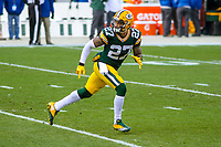 Green Bay Packers safety Josh Jones (27) during a National Football League game against the Tampa Bay Buccaneers on December 2nd, 2017 at Lambeau Field in Green Bay, Wisconsin. Green Bay defeated Tampa Bay 26-20. (Brad Krause/Krause Sports Photography)