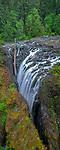 Englishman River Falls Provincial Park, Vancouver Island, BC: Upper Englishman River Falls