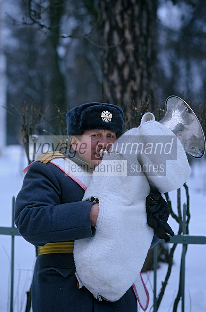 Europe-Asie/Russie/Saint-Petersbourg/Tsarkoie Selo: Palais de Catherine - Musicien