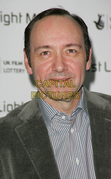 KEVIN SPACY.Attending the First Light Film Awards at the Odeon cinema, Leicester Square, London, England, March 4th 2008..portrait headshot .CAP/ROS.?Steve Ross/Capital Pictures