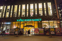 The Whole Foods Market in the New York neighborhood of Tribeca on Thursday, February 28, 2013.  (© Richard B. Levine)