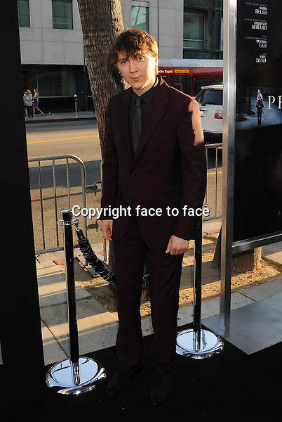 BEVERLY HILLS, CA- SEPTEMBER 12: Actor Paul Dano arrives at the 'Prisoners' - Los Angeles Premiere at the Academy of Motion Picture Arts and Sciences on September 12, 2013 in Beverly Hills, California.<br /> Credit: Mayer/face to face<br /> - No Rights for USA, Canada and France -