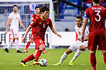 Luong Xuan Truong of Vietnam (L) in action during the AFC Asian Cup UAE 2019 Round of 16 match between Jordan (JOR) and Vietnam (VIE) at Al Maktoum Stadium on 20 January 2019 in Dubai, United Arab Emirates. Photo by Marcio Rodrigo Machado / Power Sport Images
